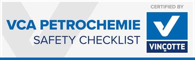 VCA petrochemie gecertificeerd