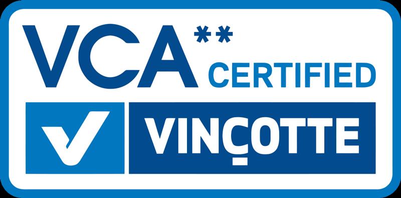 VCA certified 2 sterren